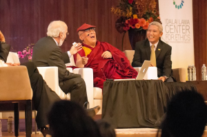 His Holiness the Dalai Lama having fun with systems thinking